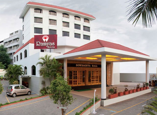 ramyas hotels near trichy railway station