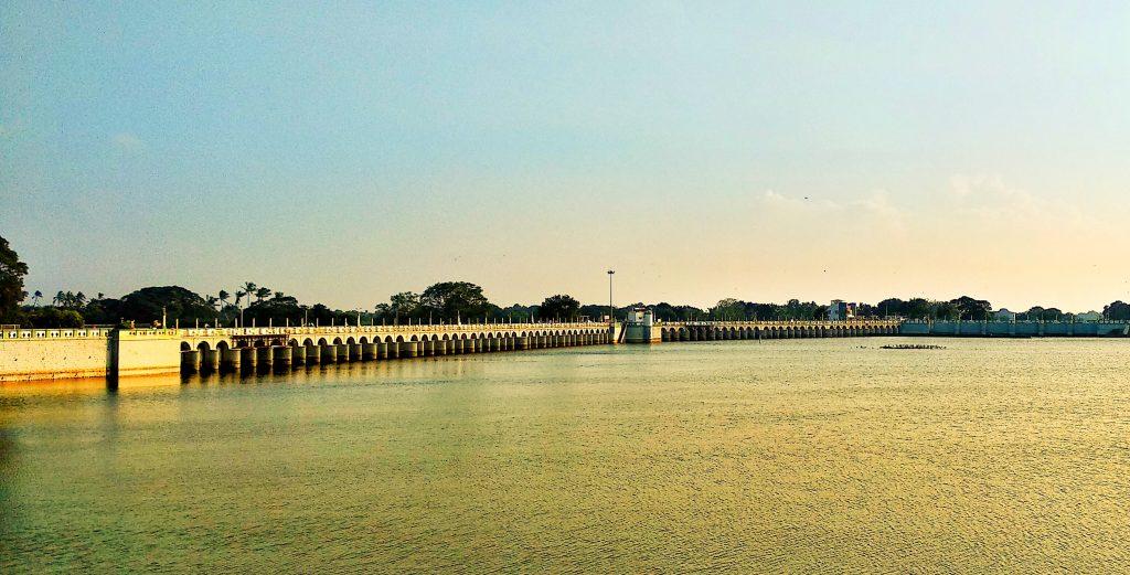 View Of Kallanai Dam