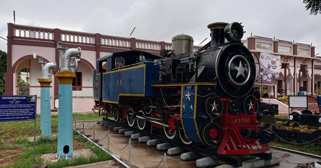 railway museum trichy