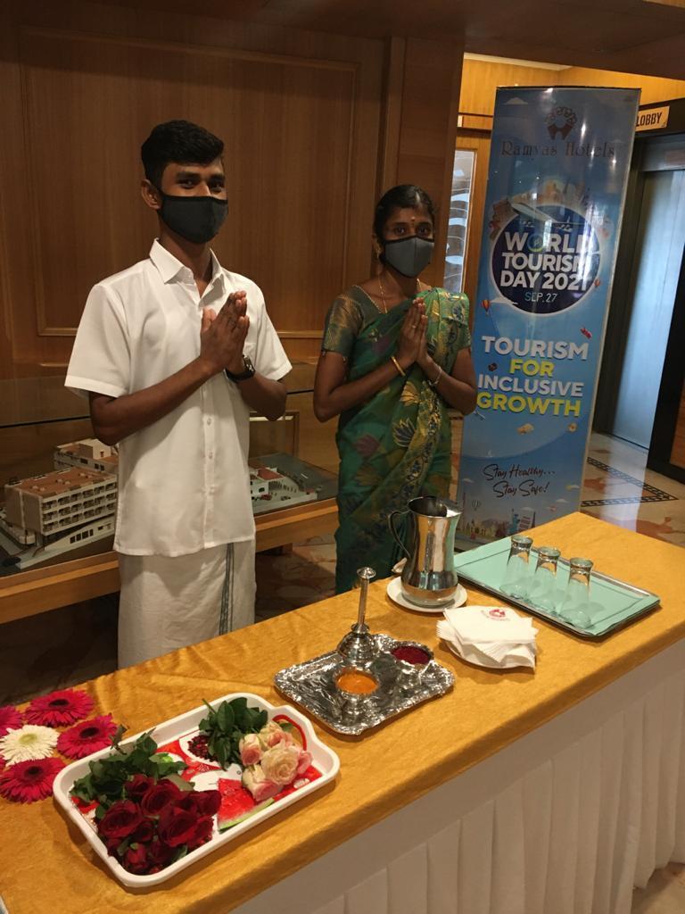 world-tourism-day-celebration-at-ramyas-hotel-trichy